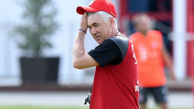 Bayern bei Ancelotti-Debüt zu mühevollem 4:3-Sieg (Bild: GEPA)