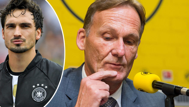 """Dortmund-Boss: """"Bayern mit Hummels unschlagbar!"""" (Bild: AFP, GEPA)"""