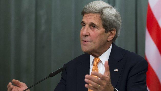 US-Au�enminister John Kerry verspricht, eine Auslieferung G�lens pr�fen zu lassen. (Bild: ASSOCIATED PRESS)