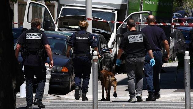 14. Juli 2016: Ein Attentäter tötete in Nizza 84 Passanten. (Bild: APA/AFP/ANNE-CHRISTINE POUJOULAT)