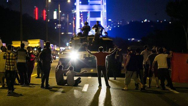 Auf den Putschversuch in der Türkei folgen nun reihenweise Gerichtsverfahren. (Bild: APA/AFP/GURCAN OZTURK)
