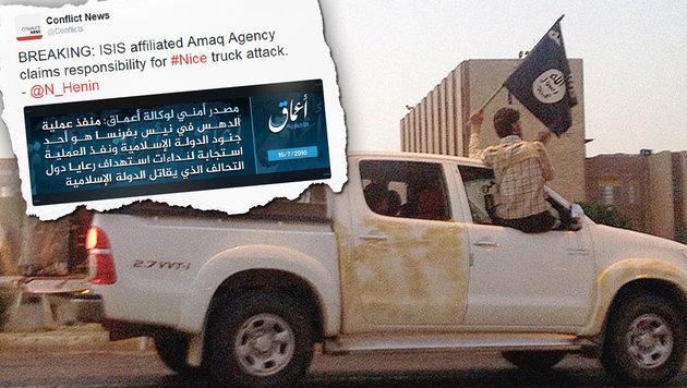 Twitter sperrte 235.000 Konten wegen Terrorismus (Bild: AP (Symbolbild), twitter.com)