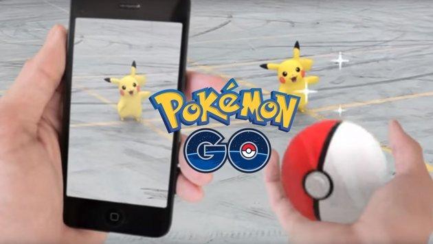 """""""Pokémons: Beim Rathaus tummeln sich viele Monster (Bild: Niantic)"""""""