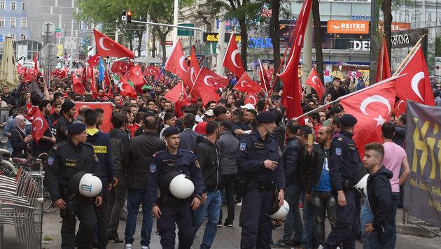 """Erdogan über Österreich: """"Keine Meinungsfreiheit"""" (Bild: APA/HERBERT P. OCZERET)"""