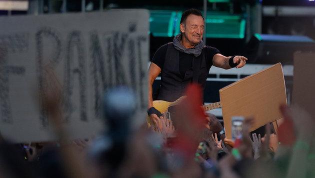 60.000 Zuschauer bei Springsteen-Konzert in Rom (Bild: AP)