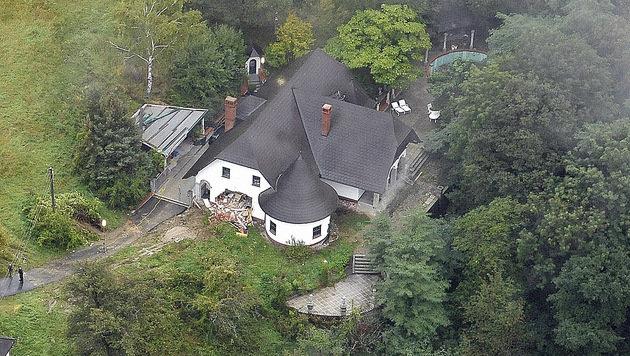 Das Haus des Wilderer Alois Huber.