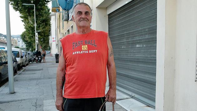Jean G. ein Nachbar des Attentäters (Bild: Reinhard Holl)