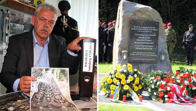 Johann Baumschlager trauert um seine getöteten Kollegen. (Bild: Paul Plutsch)