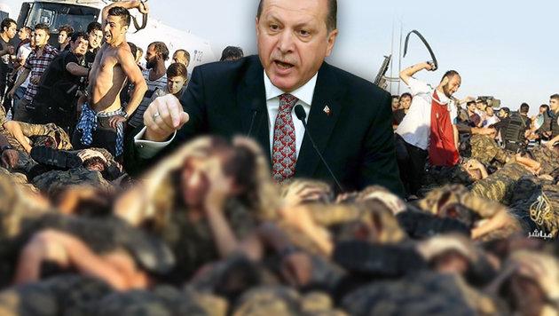 """Erdogan: """"Volk will rasches Ende der Putschisten"""" (Bild: AFP/ADEM ALTAN, twitter.com)"""