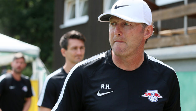Leipzigs Neo-Coach Ralph Hasenhüttl (Bild: GEPA)