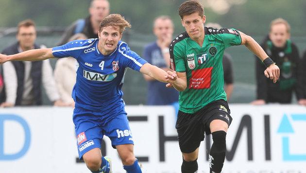 Mannsdorf eliminiert Wacker Innsbruck im ÖFB-Cup (Bild: GEPA)