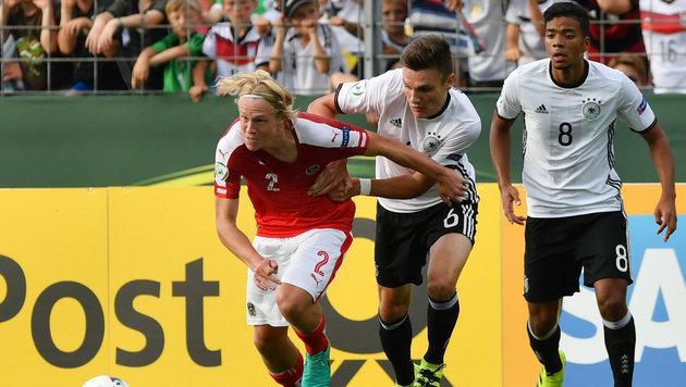 ÖFB-U19 nach 0:3 gegen Deutschland nur Vierter (Bild: APA/dpa/Uli Deck)