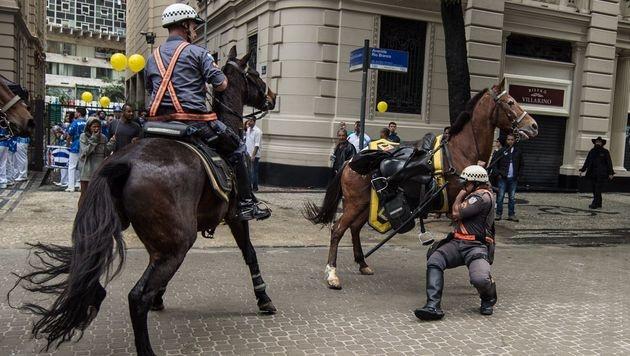 Olympia: Rio probt den Anti-Terror-Kampf (Bild: APA/AFP/VANDERLEI ALMEIDA)