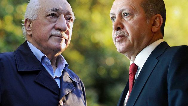 Erdogan macht Gülen für den Putschversuch verantwortlich. (Bild: AFP/KAYHAN OZER)