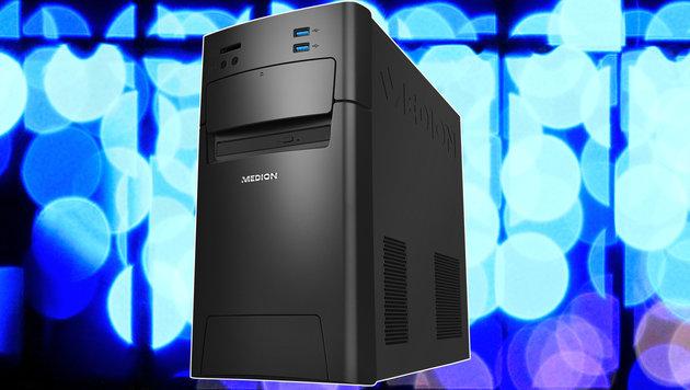 500-Euro-PC mit SSD und DDR4-RAM beim Diskonter (Bild: flickr.com/tanakawho, Medion)