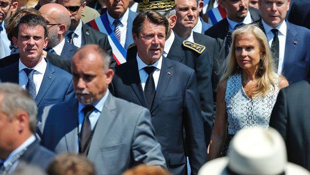Regierungschef Valls (li.) steht unter Druck. (Bild: Reinhard Holl)