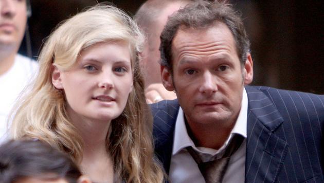 Harriet Lester mit ihrem Vater Mark Lester (Bild: Viennareport)
