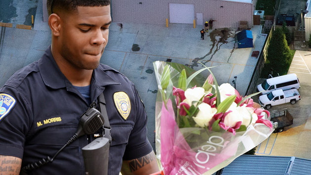 Nach den tödlichen Schüssen auf Polizisten herrschen in Baton Rouge Wut und Trauer. (Bild: AP/Gerald Herbert, Henrietta Wildsmith/The Times via AP)
