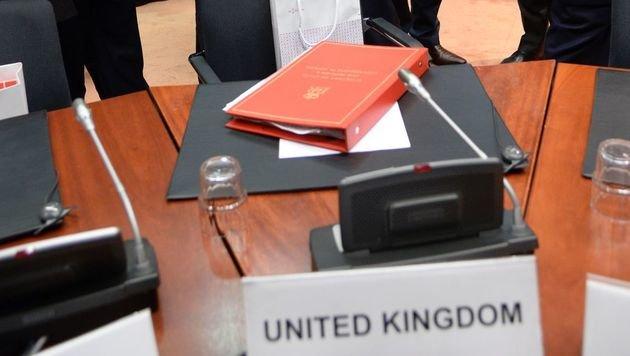 Der britische Sitz bei EU-Ministerräten wird wohl noch Jahre besetzt bleiben. (Bild: APA/AFP/THIERRY CHARLIER)