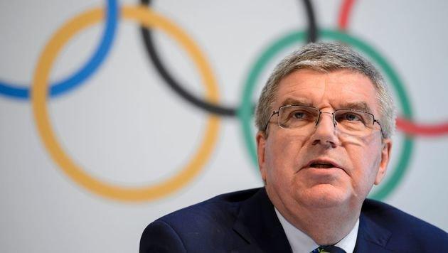 IOC-Präsident Thomas Bach (Bild: AFP)