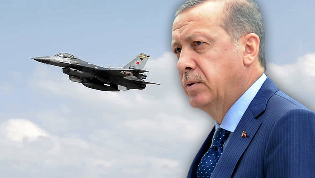 Erdogan entrann nur durch viel Glück dem Tod (Bild: AP/Alik Keplicz, YouTube.com)