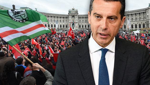 In Österreich die Grundregeln befolgen (Bild: APA/HERBERT P. OCZERET, AFP/JOHN THYS)