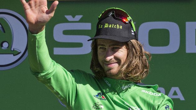 Peter Sagan gewinnt Tour-Sprintankunft in Bern (Bild: AP)