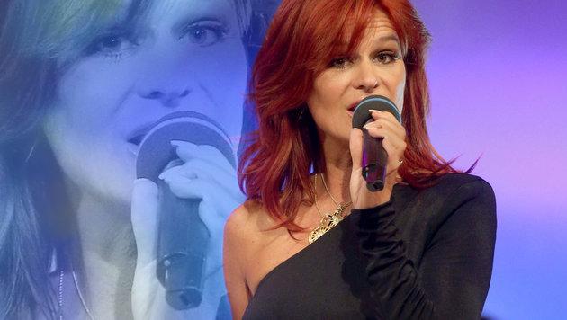Andrea Berg: Schwere Verbrennungen bei Konzert! (Bild: APA/dpa/Bodo Schackow)