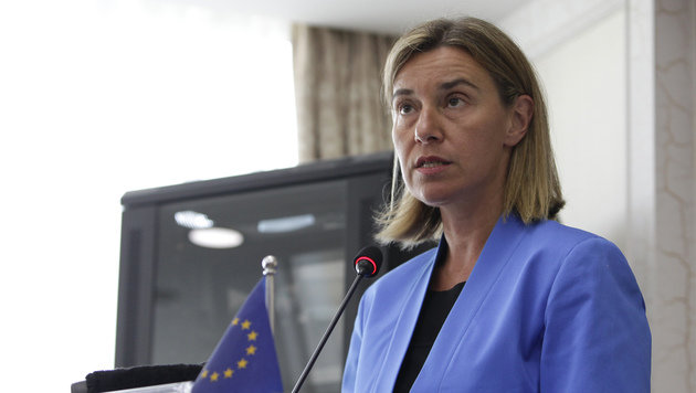 EU-Chefdiplomatin Federica Mogherini (Bild: ASSOCIATED PRESS)