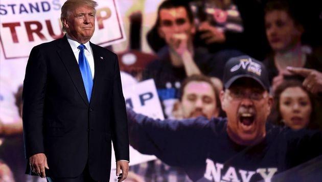 Streit bei US-Republikanern um Nominierung Trumps (Bild: AFP)