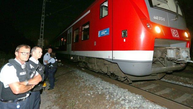 IS-Miliz bekennt sich zum Axt-Anschlag von Bayern (Bild: EPA)