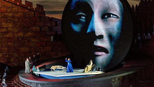 Live: Die Eröffnung  der 70. Bregenzer Festspiele (Bild: APA/DIETMAR STIPLOVSEK)