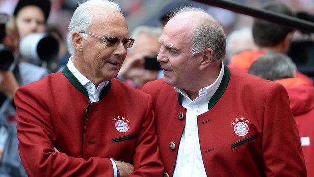 "Beckenbauer: ""Bayern braucht Hoeneß!"" (Bild: APA/dpa/Angelika Warmuth)"