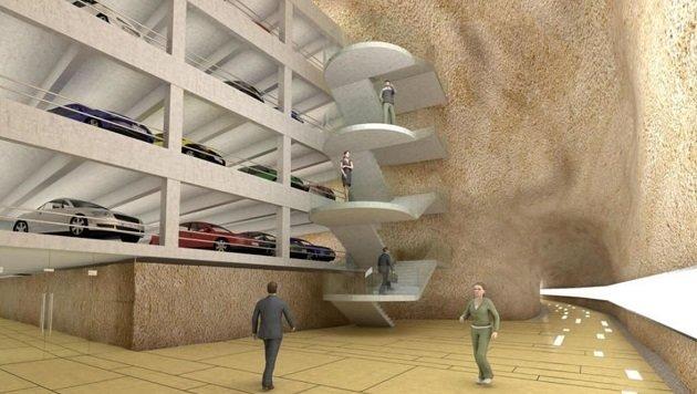 Das Millionen-Projekt Mönchsberg-Garage steht jetzt kurz vor ihrem Bauverfahren. (Bild: Mönchsberggarage)