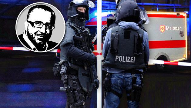 Schluss mit diesem gefährlichen Leichtsinn! (Bild: Karl-Josef Hildenbrand/dpa via AP, Marius Becker/dpa)