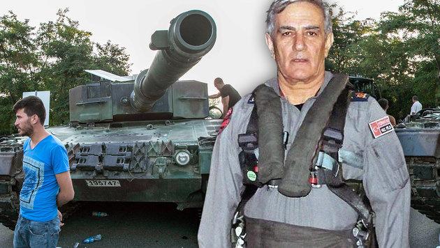 Verwirrung um Putsch-Geständnis von General (Bild: AFP/GURCAN OZTURK, EPA/STR)