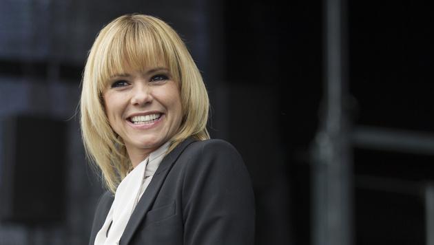 Werbedreh, bevor sie bei uns aufdreht: Francine Jordi (Bild: APA/ERWIN SCHERIAU)