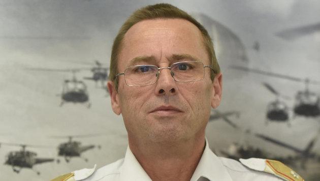 Bundesheer-Brigadier Werner Stangl (Bild: www.bundesheer.at)