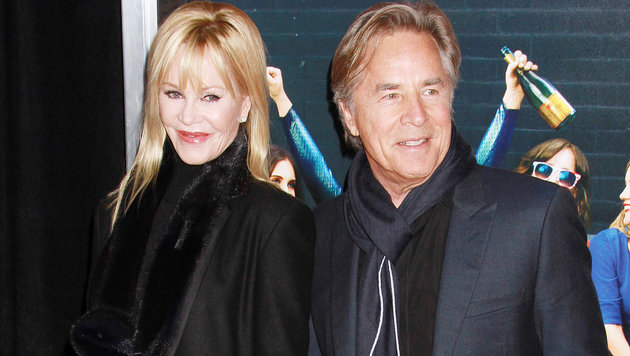 Don Johnson und Melanie Griffith (Bild: Viennareport)