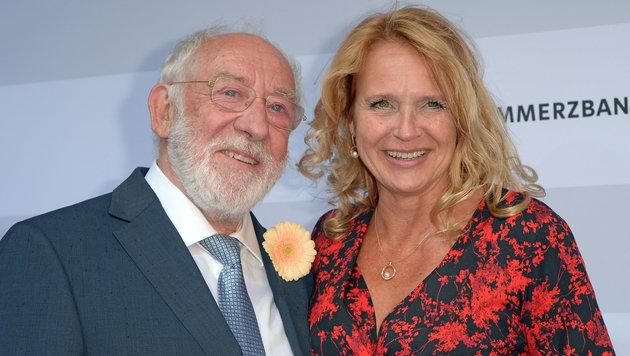 Dieter Hallervorden und Christiane Zander (Bild: Michael Timm/face to face)