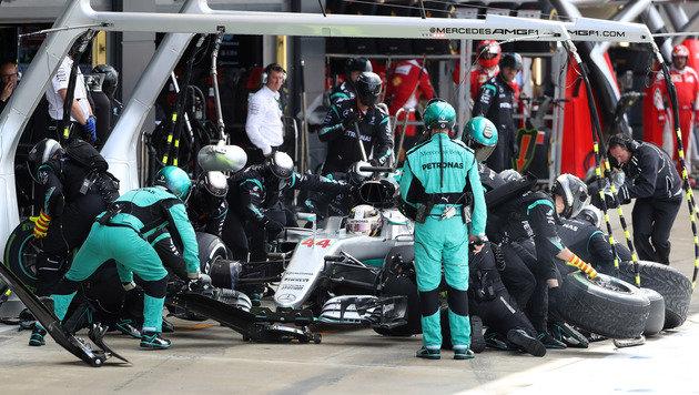Mercedes legt Fokus immer stärker auf 2017 (Bild: AP)