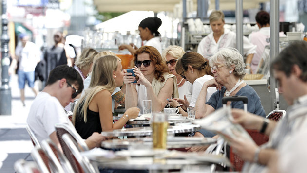 Wien: Lokalbesuche werden bald teurer (Bild: Reinhard Holl)