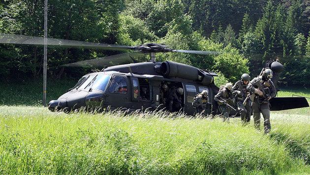 Jagdkommando: Speerspitze im Kampf gegen Terror (Bild: Zwefo)