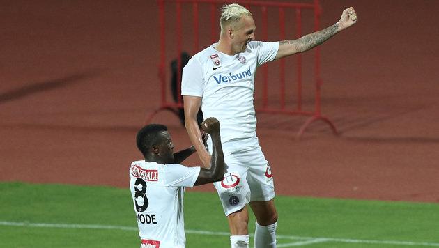 4:1 in Albanien! Austria stürmt in nächste Runde (Bild: GEPA)