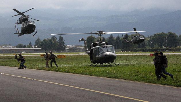 Sicherheitskabinett: Mehr Aufgaben für unser Heer (Bild: Christoph Matzl)