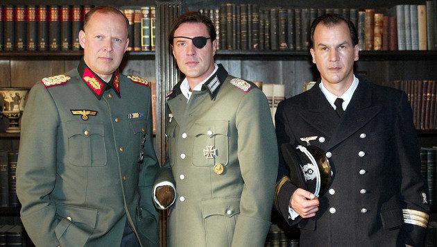 Axel Milberg, Sebastian Koch und Christopher Buchholz (Bild: ORF)
