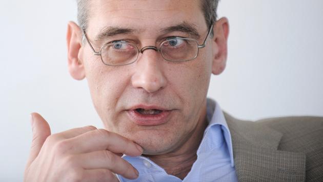 ORF-Betriebsrat Moser weist Lorenz-Kritik zurück (Bild: APA/ROBERT JAEGER)