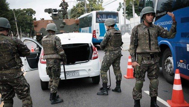 Terror bei Olympia? Polizei nahm Verdächtige fest (Bild: AFP)