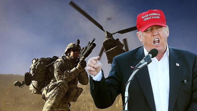 Trump übte in der Vergangenheit immer wieder Kritik an der NATO. (Bild: APA/AFP/DAVID FURST, AP)