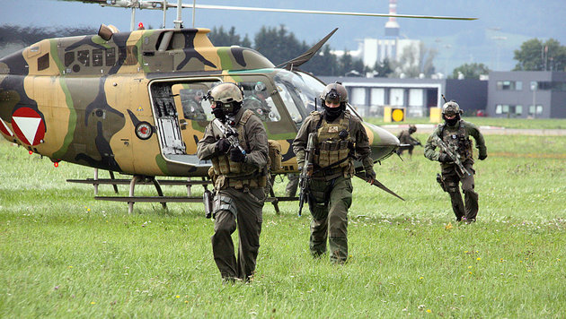 Jagdkommando: Speerspitze im Kampf gegen Terror (Bild: Christoph Matzl)
